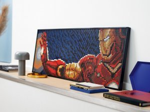 To Expect: LEGO Art!