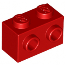 LEGO® 11211  Red Brick, Modified 1 x 2 with Studs on 1 Side