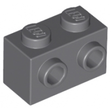 LEGO® 11211  Light Bluish Gray Brick, Modified 1 x 2 with Studs on 1 Side