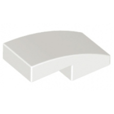 LEGO® 11477  White Slope, Curved 2 x 1