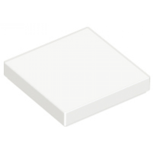 LEGO® 3068b  White Tile 2 x 2 with Groove