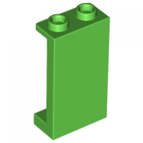 LEGO® 87544  Bright Green Panel 1 x 2 x 3 with Side Supports - Hollow Studs