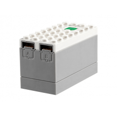 LEGO® bb0892c01  White Electric 9V Battery Box Powered Up Bluetooth HUB with Light Bluish Gray Bottom