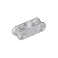 LEGO® 32184 Light Bluish Gray Technic, Axle and Pin Connector Perpendicular 3L with Center Pin Hole