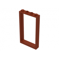LEGO® 60596 Reddish Brown Door Frame 1 x 4 x 6 with Two Holes on Top and Bottom