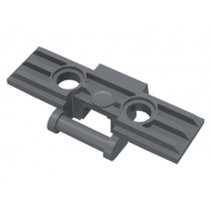 LEGO® 57518 Dark Bluish Gray Technic, Link Tread Wide with Two Pin Holes