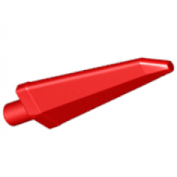 LEGO® 64727 Red Minifigure, Weapon Sword, Spike Flexible 3.5L with Pin