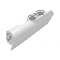 LEGO® 11946 White Technic, Panel Fairing #21 Very Small Smooth, Side B