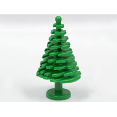 LEGO® 3471 Green Plant, Tree Pine Large 4 x 4 x 6 2/3