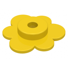 LEGO® 3742 Yellow Plant Flower Small