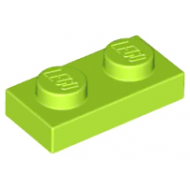 LEGO® 3023 Lime Plate 1 x 2