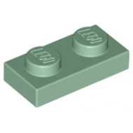 LEGO® 3023 Sand Green Plate 1 x 2