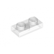 LEGO® 3023 Trans-Clear Plate 1 x 2