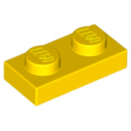 LEGO® 3023 Yellow Plate 1 x 2