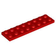 LEGO® 3034 Red Plate 2 x 8