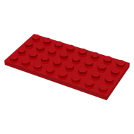 LEGO® 3035 Red Plate 4 x 8