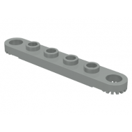 LEGO® 4262 Light Gray Technic, Plate 1 x 6 with Toothed Ends