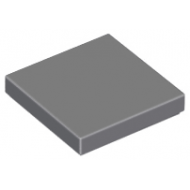 LEGO® 3068b Dark Bluish Gray Tile 2 x 2 with Groove