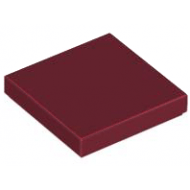 LEGO® 3068b Dark Red Tile 2 x 2 with Groove