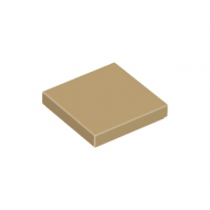 LEGO® 3068b Dark Tan Tile 2 x 2 with Groove