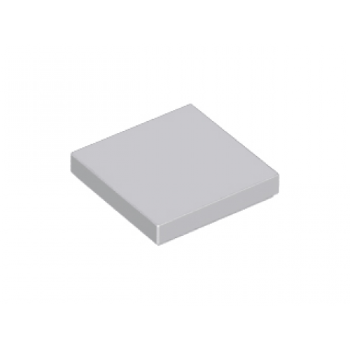 LEGO® 3068b Light Bluish Gray Tile 2 x 2 with Groove
