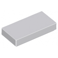 LEGO® 3069b Light Bluish Gray Tile 1 x 2 with Groove