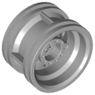 LEGO® 56145 Light Bluish Gray Wheel 30.4mm D. x 20mm with No Pin Holes and Reinforced Rim