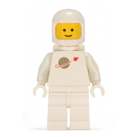 LEGO® sp006 Classic Space - White with Airtanks 2EA MISSING OXY BOTTLES