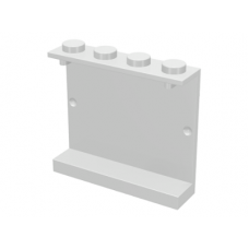 LEGO® 4215a  White Panel 1 x 4 x 3 - Solid Studs