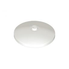 LEGO® 3960 White Dish 4 x 4 Inverted Radar with Solid Stud