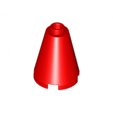 LEGO® 3942c Red Cone 2 x 2 x 2 - Open Stud