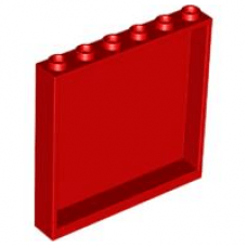 LEGO® 59349 Red Panel 1 x 6 x 5