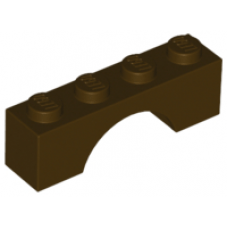 LEGO® 3659 Dark Brown Brick, Arch 1 x 4