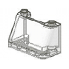 LEGO® 3823 Trans-Clear Windscreen 2 x 4 x 2