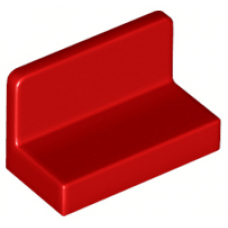 LEGO® 4865b Red Panel 1 x 2 x 1 with Rounded Corners