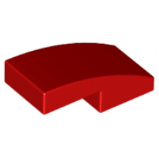 LEGO® 11477 Red Slope, Curved 2 x 1