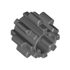 LEGO® 10928 Dark Bluish Gray Technic, Gear 8 Tooth with Dual Face