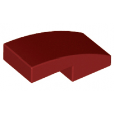 LEGO® 11477 Dark Red Slope, Curved 2 x 1