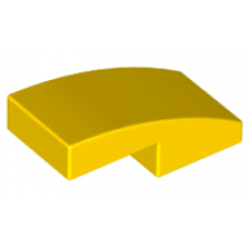 LEGO® 11477 Yellow Slope, Curved 2 x 1