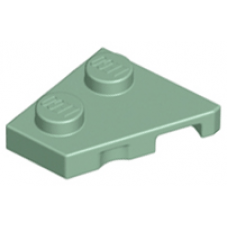 LEGO® 24299 Sand Green Wedge, Plate 2 x 2 Left