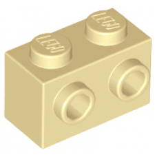LEGO® 11211 Tan Brick, Modified 1 x 2 with Studs on 1 Side