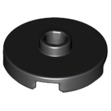 LEGO® 18674 Black Tile, Round 2 x 2 with Open Stud