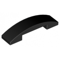 LEGO® 93273 Slope, Curved 4 x 1 Double Black