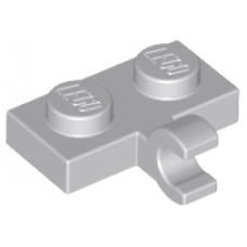 LEGO® 11476 Plate, Modified 1 x 2 with Clip on Side (Horizontal Grip) Light Bluish Gray