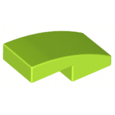LEGO® 11477 Slope, Curved 2 x 1 Lime