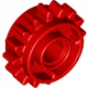 LEGO® 18946 Technic, Gear 16 Tooth with Clutch on Both Sides Red