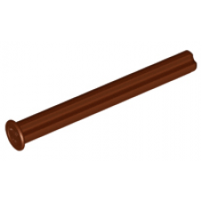 LEGO® 15462 Technic, Axle 5 with Stop Reddish Brown