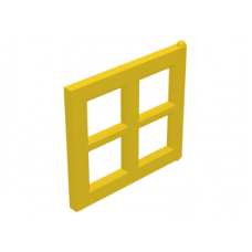 LEGO® 4133 Yellow Pane for Window 2 x 4 x 3