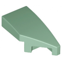 LEGO® 29119 Sand Green Wedge 2 x 1 with Stud Notch Right