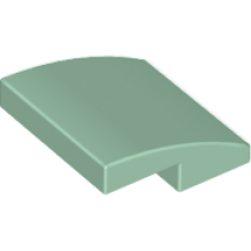 LEGO® 15068 Sand Green Slope, Curved 2 x 2